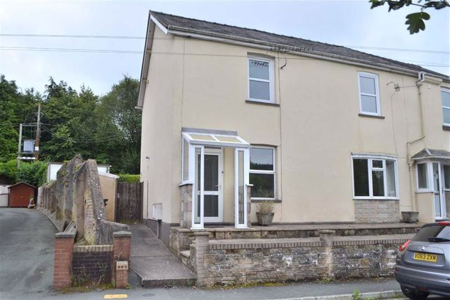 Thumbnail Semi-detached house for sale in 24, Hafren Terrace, Llanidloes, Powys