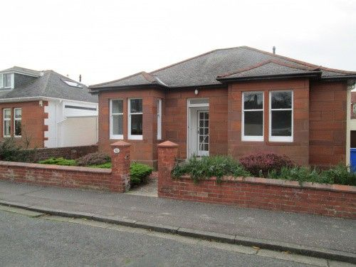 Thumbnail Bungalow to rent in Clarke Avenue, Ayr