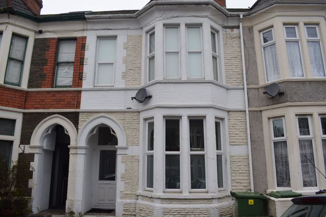 Thumbnail Terraced house to rent in Beda Road, Canton, Cardiff