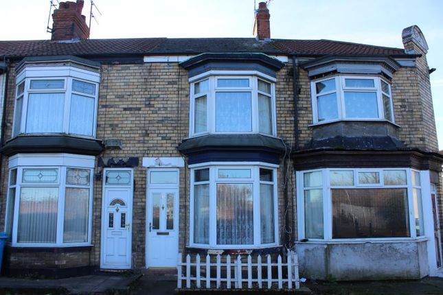 Thumbnail Terraced house to rent in Frodsham Street, Hedon Road, Hull