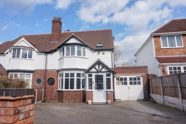 Thumbnail Semi-detached house for sale in Egerton Road, Streetly, Sutton Coldfield