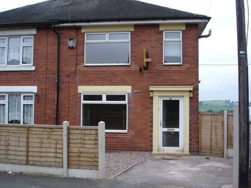 Thumbnail Town house to rent in Cotton Road, Sandyford, Stoke-On-Trent, 5Qb