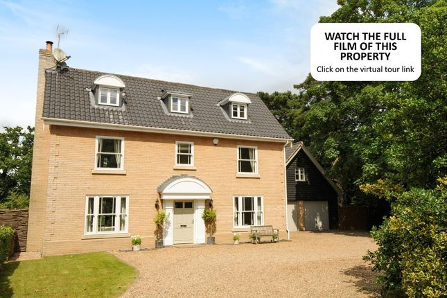 Thumbnail Detached house for sale in Elsing Road, Lyng, Norwich