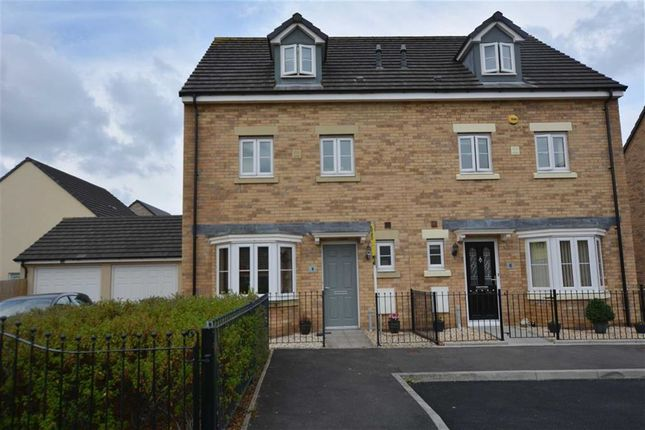 Thumbnail Semi-detached house for sale in Cae Alaw Goch, Aberdare