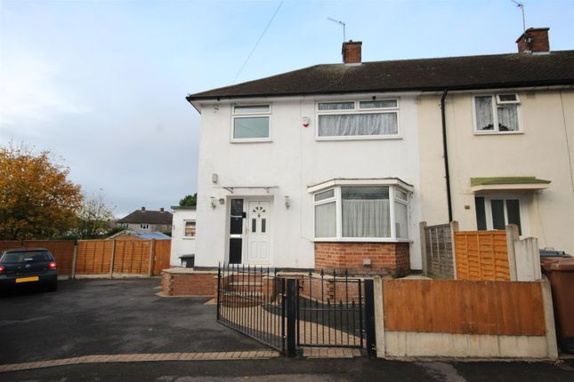 Thumbnail Semi-detached house for sale in Winslow Green, Chaddesden, Derby