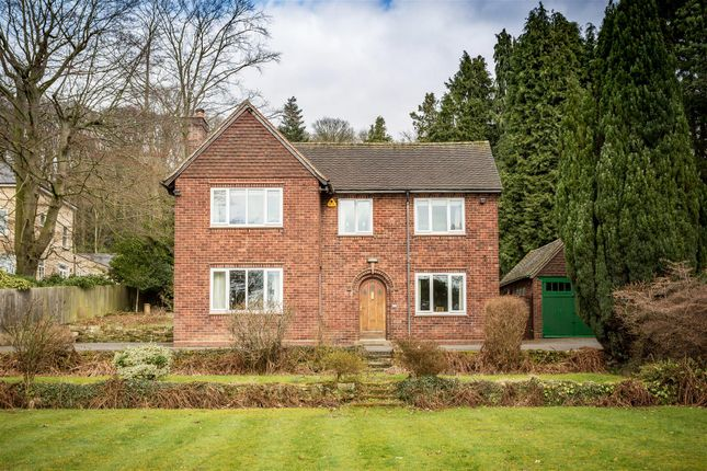 Thumbnail Detached house for sale in Duffield Road, Little Eaton, Derby