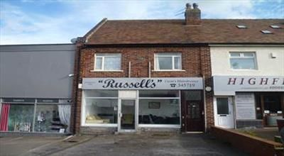 Thumbnail Retail premises for sale in Shop & Separate Flat, 49 Harrowside, Blackpool