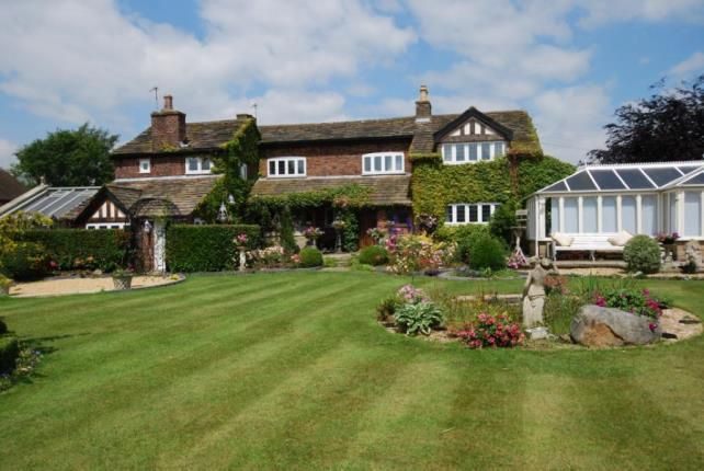 Thumbnail Detached house for sale in Brookledge Lane, Adlington, Macclesfield, Cheshire