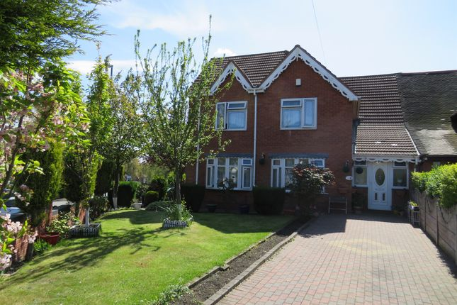 Thumbnail Semi-detached house for sale in Lincoln Road, Walsall