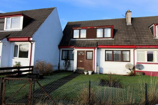 Thumbnail Semi-detached house for sale in 3 Upper Riochan, Inveraray