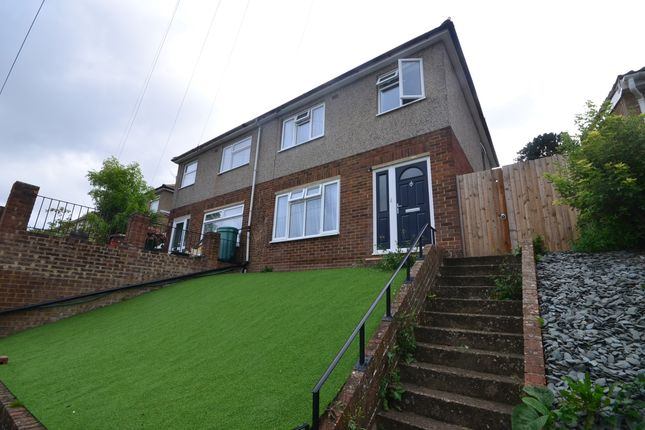 Thumbnail Semi-detached house to rent in Goddings Drive, Borstal, Rochester