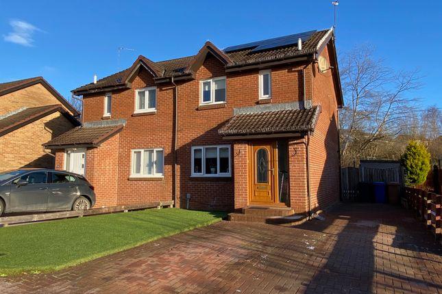 Semi-detached house for sale in Barra Crescent, Old Kilpatrick, West Dunbartonshire