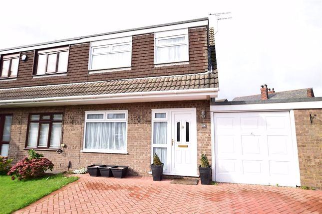 Thumbnail Semi-detached house for sale in Brackley Close, Wallasey, Merseyside