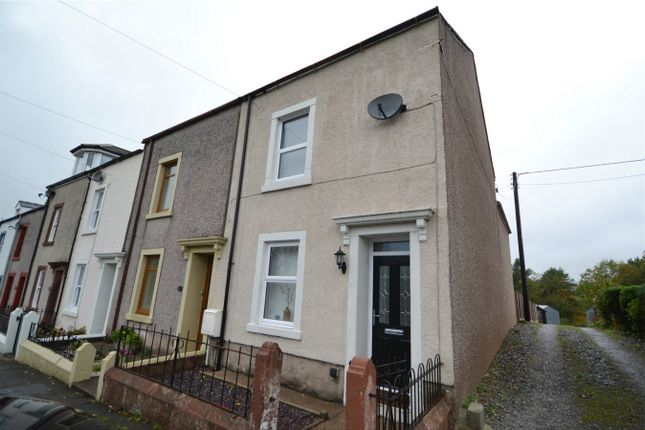 Thumbnail End terrace house for sale in Trumpet Terrace, Cleator, Whitehaven, Cumbria