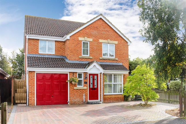 Thumbnail Detached house for sale in Barley Close, Daventry
