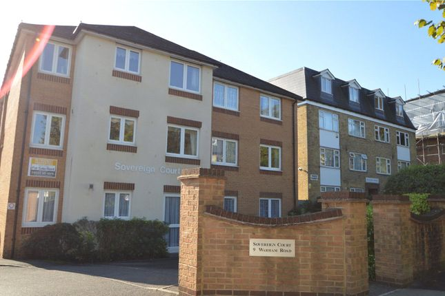 Front of Sovereign Court, 9 Warham Road, South Croydon CR2