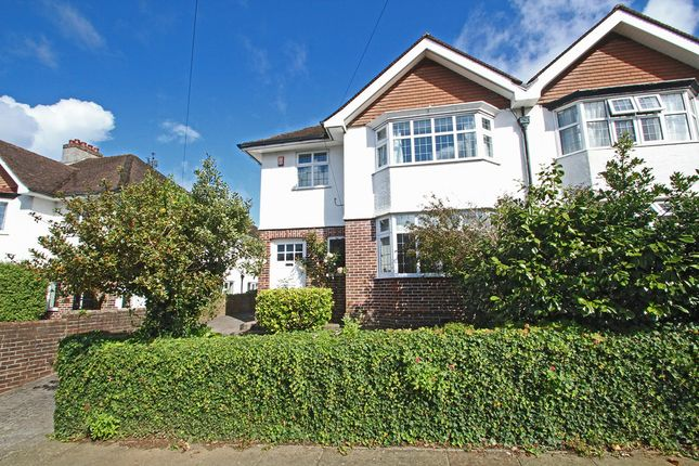 Thumbnail Semi-detached house for sale in Lyndrick Road, Hartley, Plymouth