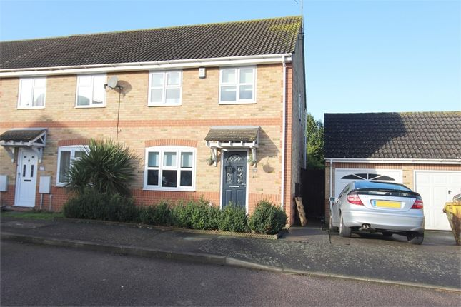 Thumbnail End terrace house for sale in Stoney Bank, Gillingham, Kent.
