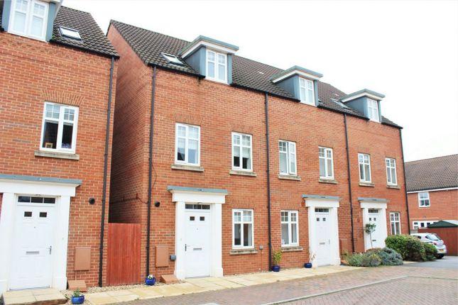 Thumbnail Town house to rent in Collett Road, Norton Fitzwarren, Taunton