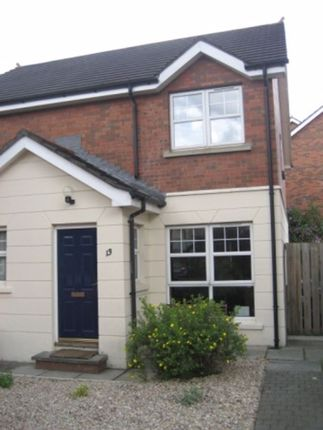 Thumbnail Semi-detached house to rent in Ardenlee Court, Ravenhill, Belfast