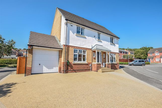 Thumbnail Detached house for sale in Cwlwm Cariad, Barry