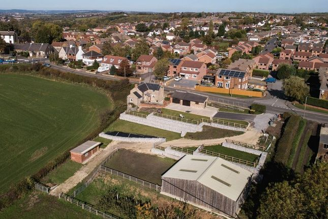 Thumbnail Equestrian property for sale in Church Lane, North Wingfield, Chesterfield