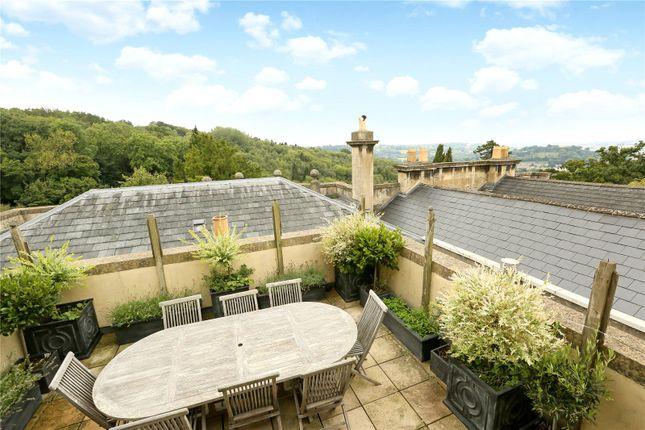 Roof Terrace of Bathwick Tower, Bathwick Hill, Bath BA2