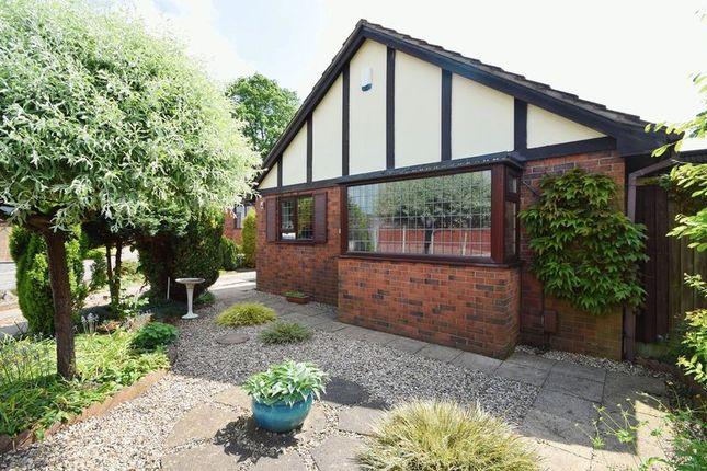 Thumbnail Detached bungalow for sale in Celandine Close, Milton, Stoke-On-Trent