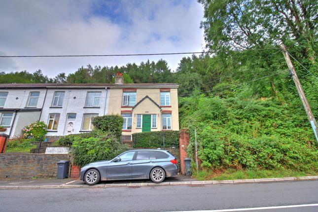 Thumbnail End terrace house for sale in Mount Pleasant, Merthyr Vale, Merthyr Tydfil