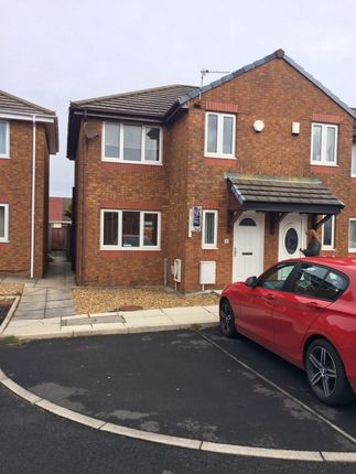 Thumbnail Semi-detached house to rent in Warren Grove, Blackpool