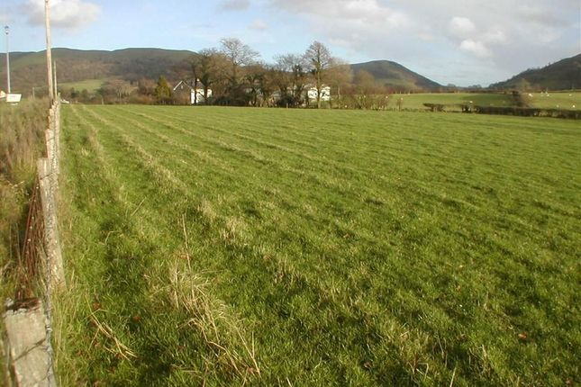 Thumbnail Property for sale in Development Land At Bryncoch, Llanbrynmair, Powys