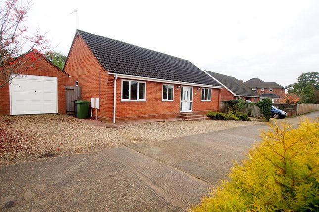Thumbnail Detached bungalow for sale in St. Thomas Drive, Silfield, Wymondham