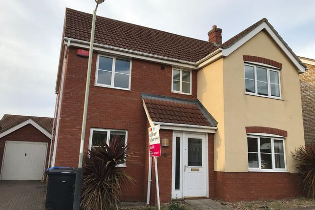 Thumbnail Detached house to rent in Rimer Close, Norwich