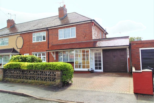 Thumbnail End terrace house for sale in York Avenue, Walsall