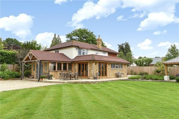 Thumbnail Detached house for sale in School Road, Windlesham, Surrey