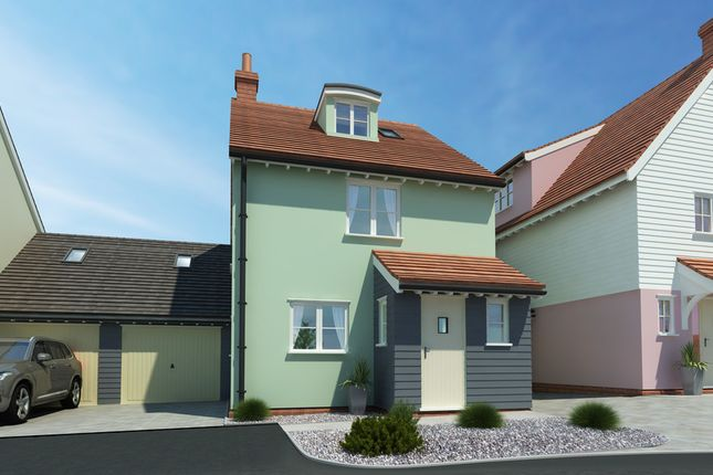 Thumbnail Link-detached house for sale in Dunmow Road, Little Canfield, Dunmow
