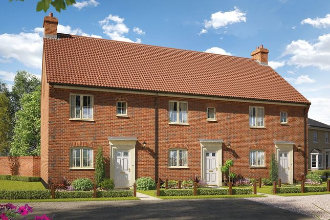 Thumbnail Terraced house for sale in The Burdock, Reach Road, Burwell, Cambridgeshire