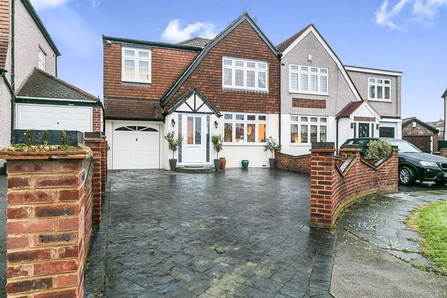 Thumbnail Semi-detached house for sale in Knowle Avenue, Bexleyheath