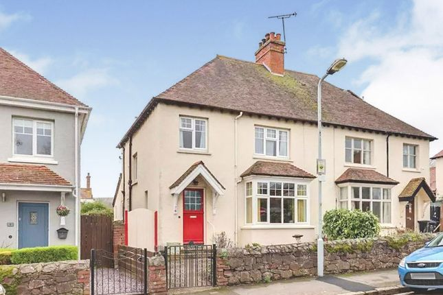 Thumbnail Semi-detached house for sale in Queens Road, Minehead
