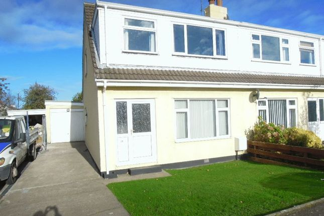 Thumbnail Semi-detached house to rent in Greenlands Avenue, Ramsey, Isle Of Man