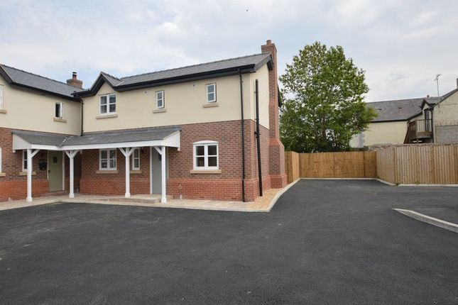 Thumbnail Detached house for sale in Bryn Llwyd, Caerwys, Mold