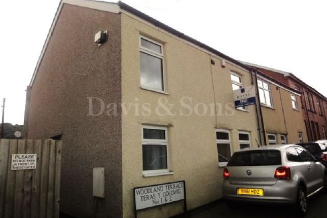 Thumbnail Semi-detached house for sale in Woodland Terrace, Pontnewynydd, Pontypool, Monmouthshire.