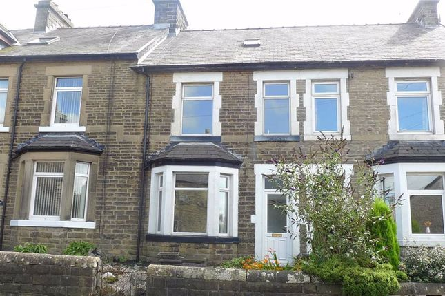 Thumbnail Terraced house to rent in Queens Road, Buxton, Derbyshire