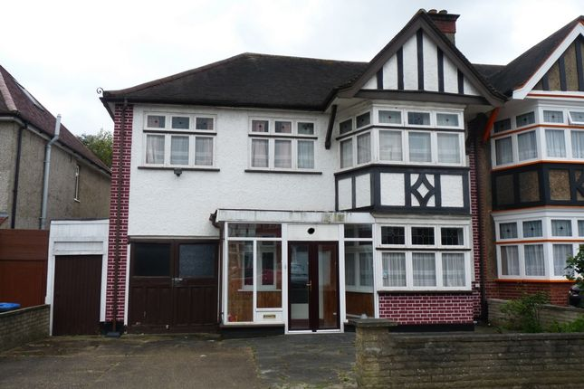 Thumbnail Semi-detached house for sale in Briar Road, Kenton