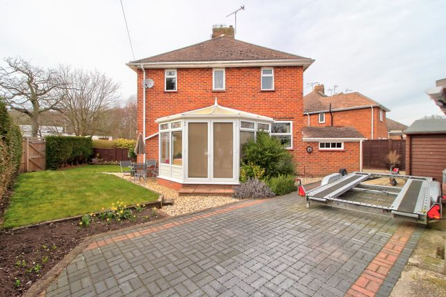 Thumbnail Semi-detached house for sale in Andrewartha Road, Farnborough