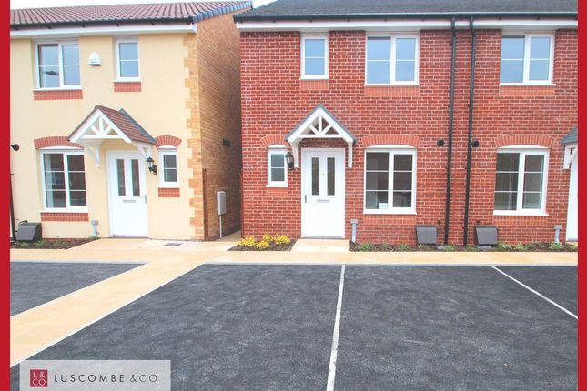 Thumbnail Semi-detached house to rent in Spitfire Road, Rogerstone, Newport