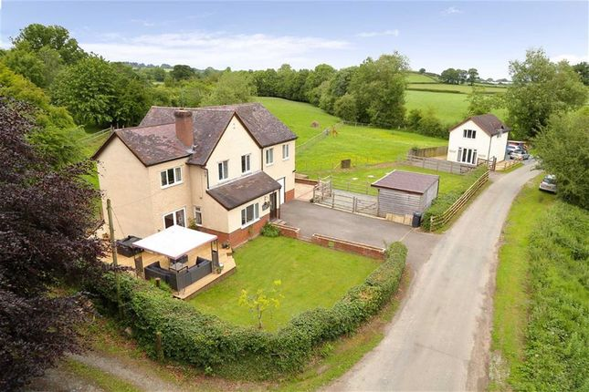 Thumbnail Detached house for sale in Penygarreg Lane, Pant, Oswestry