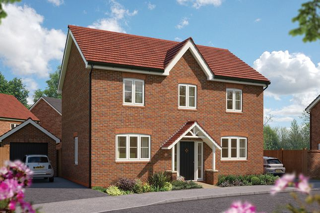 "4 bed detached house for sale in ""The Chestnut "" at Hobnock Road, Essington, Wolverhampton WV11"