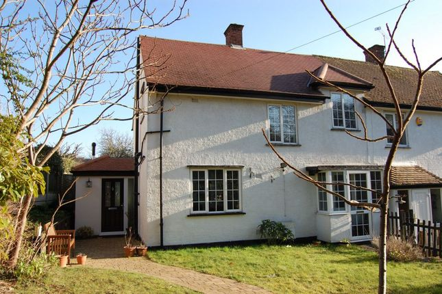 Thumbnail Semi-detached house for sale in Graylands, Loughton Lane