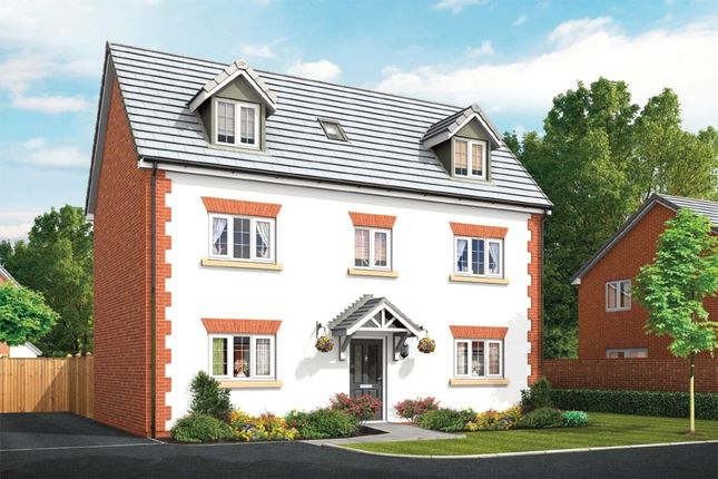 Thumbnail Detached house for sale in The Wordsworth Squirrels Chase, Chestnut Avenue, Shavington, Crewe